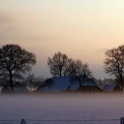 Mist in Drenthe