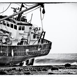 Vissersschip Petten