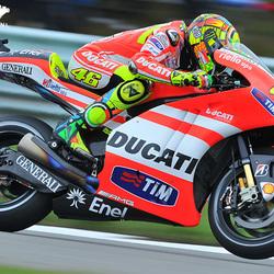 Rossi in actie.... ;)