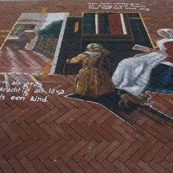 Straat expositie PieterHoogh