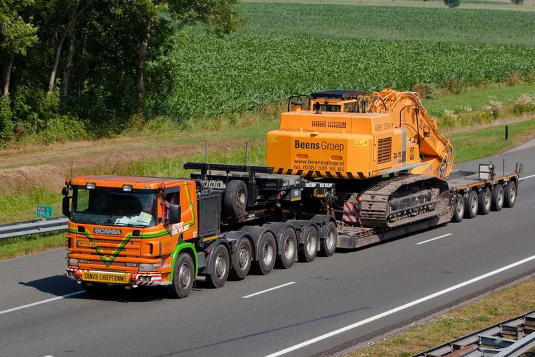 Kraan transport
