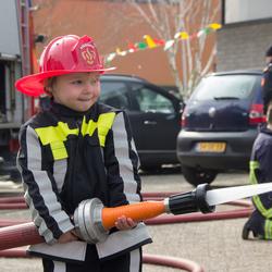 Mini brandweervrouwtje