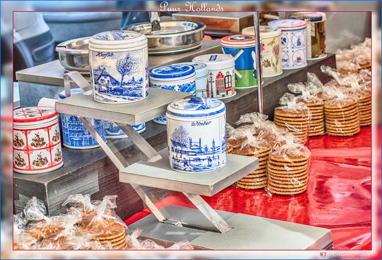 Puur Hollands - Lekkere puur hollands vers gemaakte stroopwafels - Lindengracht Amsterdam