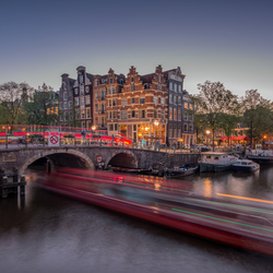 Amsterdam Light Trails