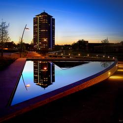 Blauw uurtje Stadskanaal