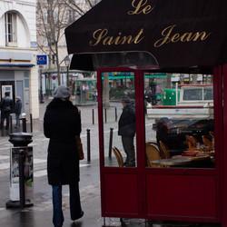 Bij cafe Saint Jean