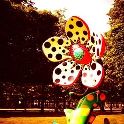 Kunst in jardin de tuileries