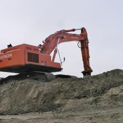 P2260202   Bouwput Gemaal  nr2  DUIN afgraven 26 feb 2009