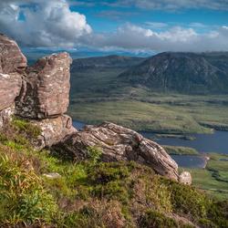 View over Loch Lurgainn