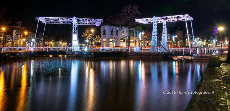 Verlichte bruggen in Meppel | Straatfotografie foto van deharder ...