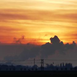 luchtvervuiling door de Hoogovens