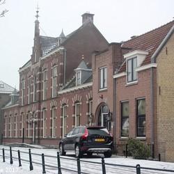 07-01-2017 oude kern in Capelle aan den IJssel.