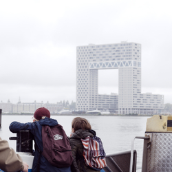Amsterdam - Kinderen hebben de toekomst....
