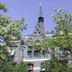Gevel Binnenweg Rotterdam 3D