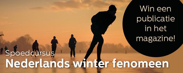 fotowedstrijd: Spoedcursus: Nederlands Winter Fenomeen