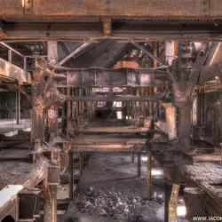 Verlaten oude staalfabriek (5)