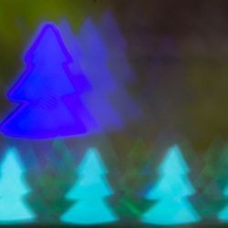 Dansende kerstbomen