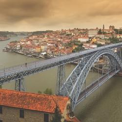 Porto Ponte Luiz I stadsgezicht