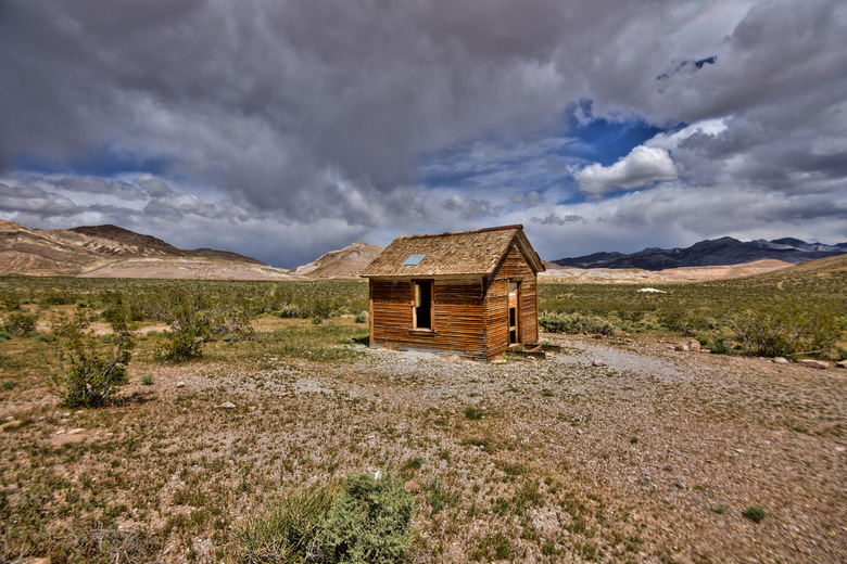 my second home - een ghosttown in Amerika