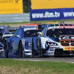 DTM race op cp Zandvoort