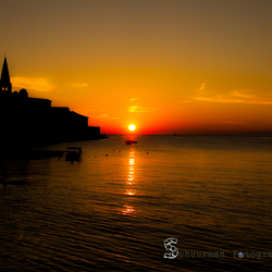Zonsondergang Kroatie