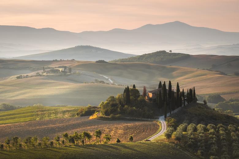 Podere Belvedere - Podere Belvedere in Toscane is een van de meest gefotografeerde landschappen in Europa, en terecht! Tijdens onze vakantie ben ik hi