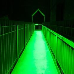 perpectief in groen