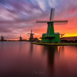 A sunrise to remember in Zaanse Schans