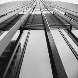 The lines of The Sky Garden building