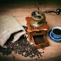 DE geur van koffie