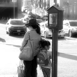China town women and child