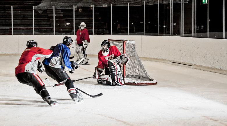 IJCU Dragons 2 - Foto gemaakt tijdens de training van ijshockey team IJCU Dragons.