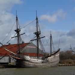 VOC replica Halve Maen in Hoorn