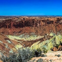krater van de vulkaan