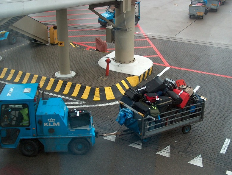 Waar is mijn koffer?
