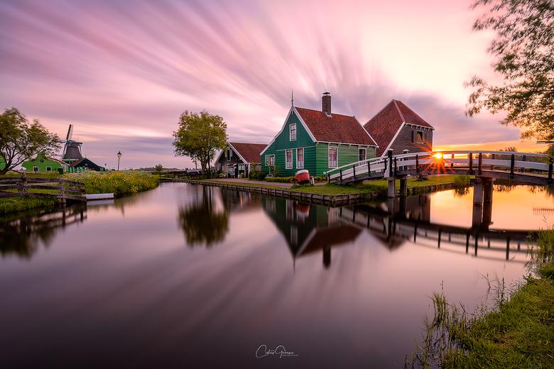 Sunrise delight in Zaanse Schans -