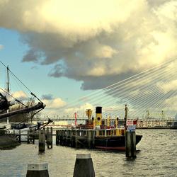Blik vanaf de Jachthaven