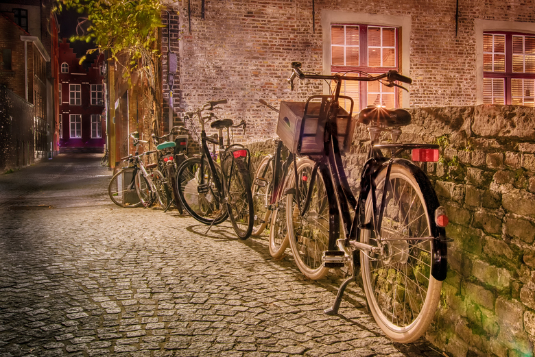 bikes in brugge - bikes in brugge