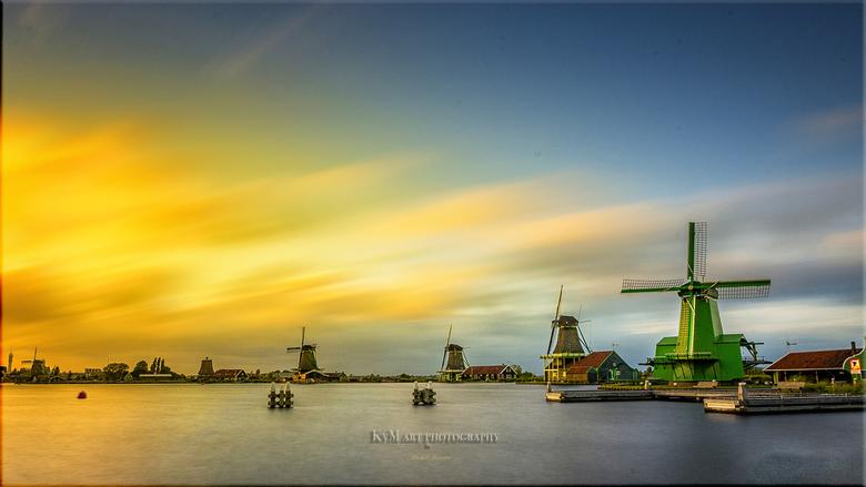 Zaanse - Wereld erfgoed Zaanseschans  Noord-Holland..