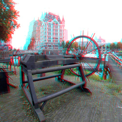 oude Haven Rotterdam 3D GoPro 90mm
