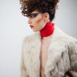 Hair styling shoot voor Jantine van Luttikhuizen