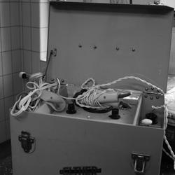 Apparatuur voor elektroschock-behandeling