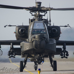 Front view of an Apache