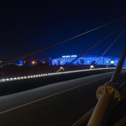 Ghelamco Arena vanop brug - Gent