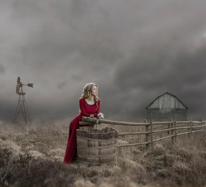 Lucylle - Compositie van 7 afzonderlijke foto`s, nabewerkt in photoshop