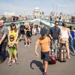 Londen - Millenium Bridge