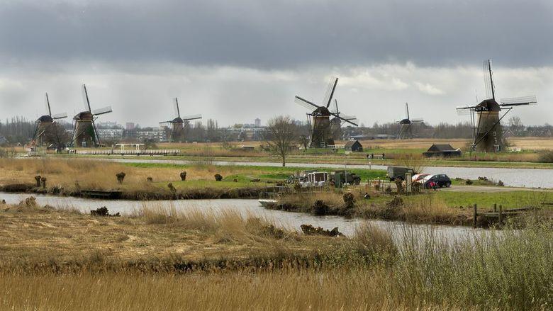 Hollands Landschap - Wat kan het landschap ook mooi zijn bij slecht weer