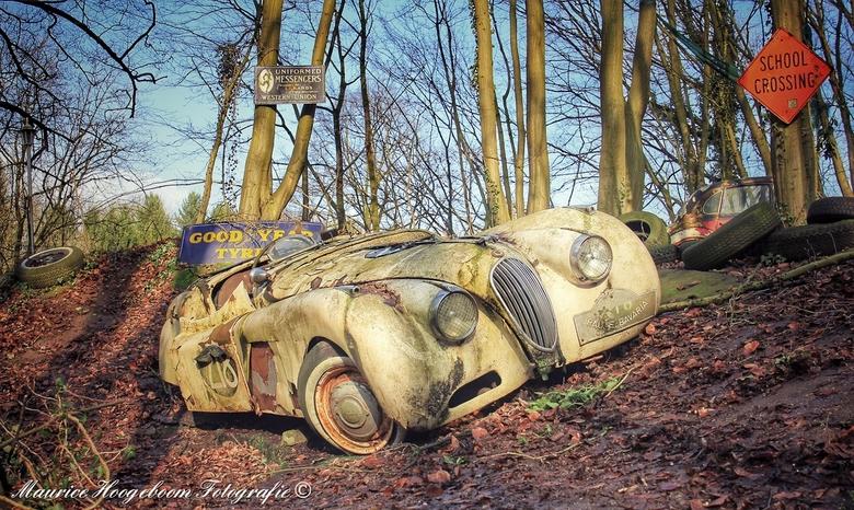 The lost rallycar -