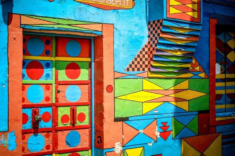 Kleur Veel Kleur : Stijltrend re assemble veel kleur creatieve tegenstellingen