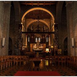 Binnenzicht kerkje